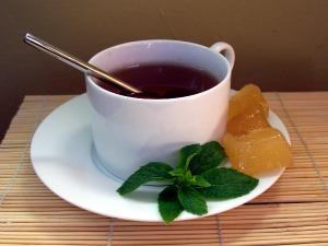 gingermint tea